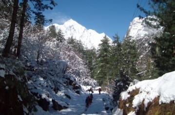 Langtang, Ganja La Pass, Helambu trek