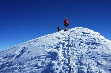 Pachermo Peak Climbing