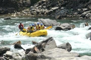 The Kaligandaki River