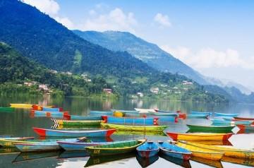 The mesmerising Pokhara city